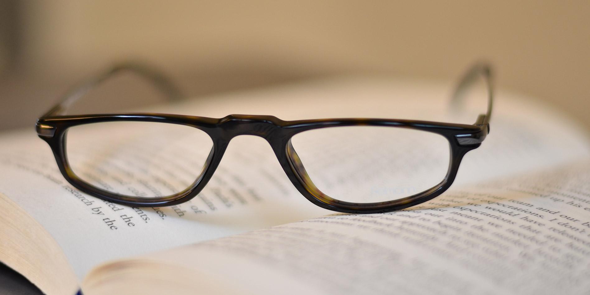 Gli occhiali da lettura