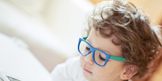 Bambini e occhiali da vista